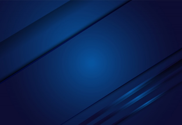 Geometrische überlappungsschicht mit dunkelblauem farbverlauf
