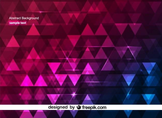 Geometrischen abstrakten glänzende hintergrund-design
