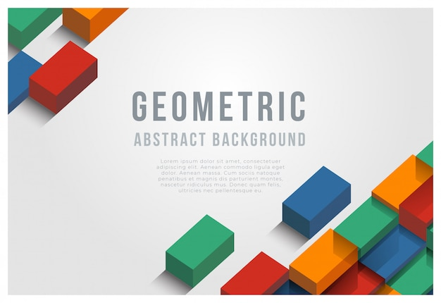 Geometrischen abstrakten hintergrund