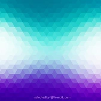 Geometrischen hintergrund in gradienten stil