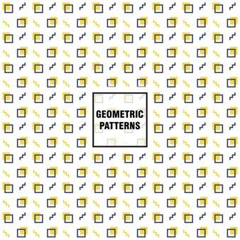 Geometrischen muster hintergrund