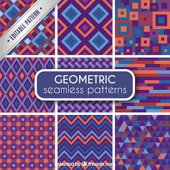 Geometrischen mustern nahtlose