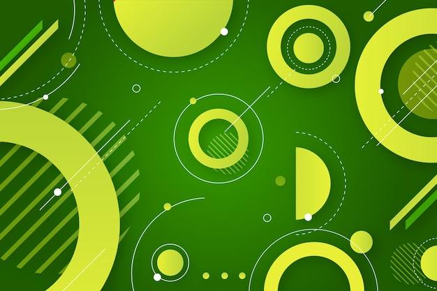 Geometrischer abstrakter grüner hintergrund