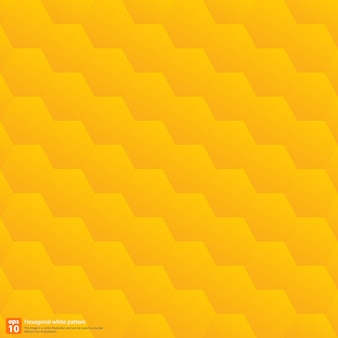 Geometrischer abstrakter hintergrund des hexagonalmusters, gelbe farbe