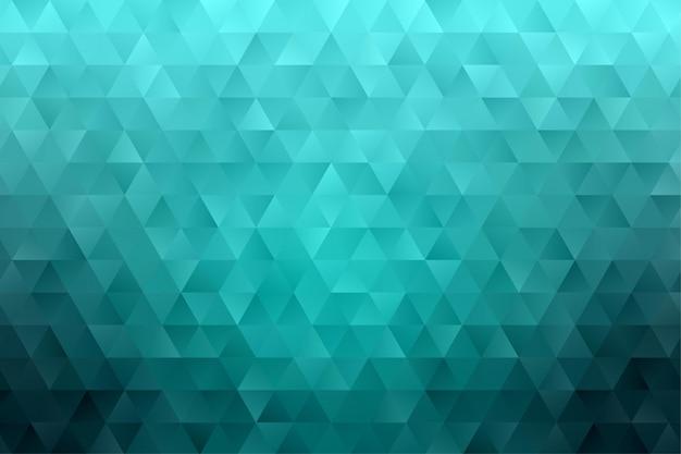 Geometrischer abstrakter hintergrundtapetenvektor des dreieckspolygons