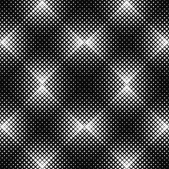 Geometrischer abstrakter quadratischer musterschwarzweiss-hintergrund