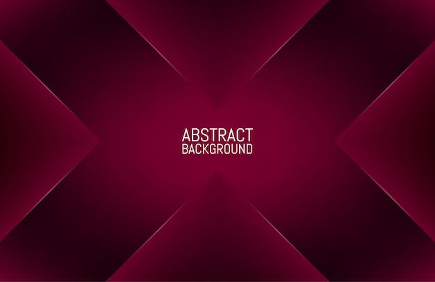 Geometrischer abstrakter roter hintergrund
