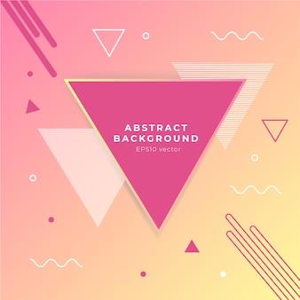 Geometrischer abstrakter vektorhintergrund