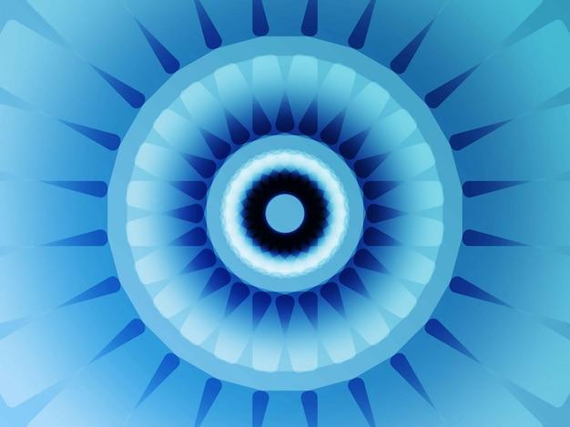 Geometrischer blumenblauhintergrund