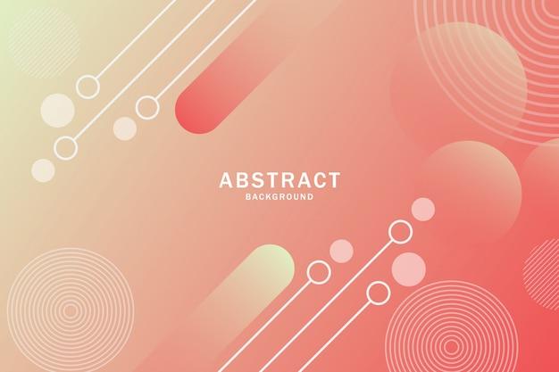 Geometrischer formhintergrund der abstrakten steigung.