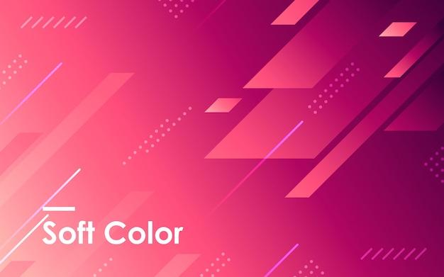 Geometrischer formhintergrund der purpurroten steigung