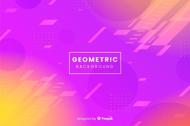 Geometrischer formhintergrund der steigung