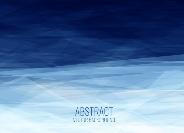 Geometrischer fractalhintergrund der abstrakten blauen beschaffenheit