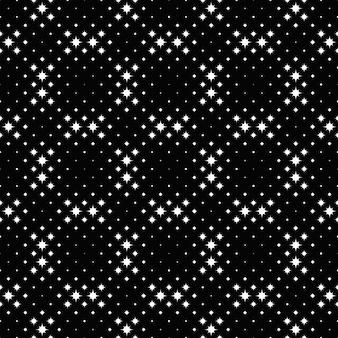 Geometrischer gebogener sternchen-schwarzweiss-hintergrund