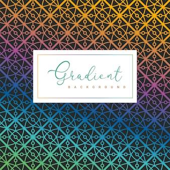 Geometrischer gradientenhintergrund