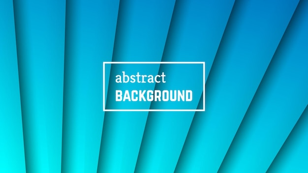Geometrischer hintergrund der abstrakten minimalen linie. blaue linienform für banner, vorlagen, karten. vektor-illustration.