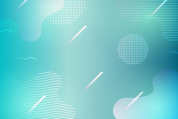 Geometrischer hintergrund des abstrakten blauen gradienten