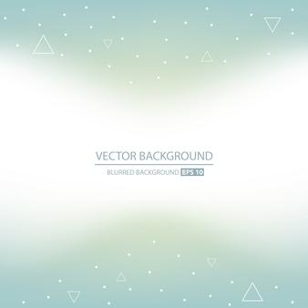 Geometrischer hintergrund des abstrakten kreativen vektors.