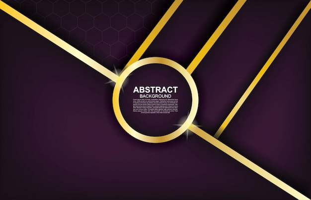 Geometrischer hintergrund des modernen abstrakten designs