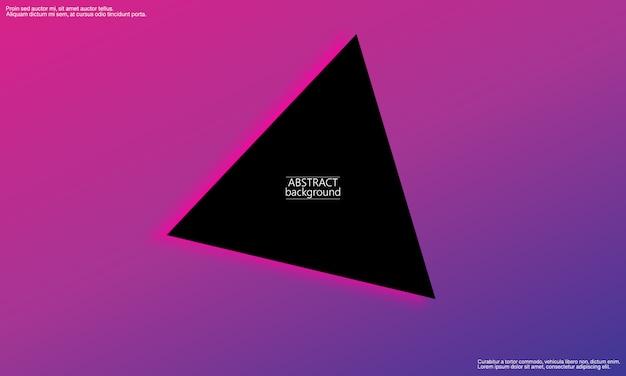 Geometrischer hintergrund. minimale zusammenfassung. trendy farbverlaufsplakat.