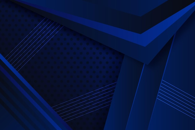 Geometrischer hintergrund mit farbverlauf