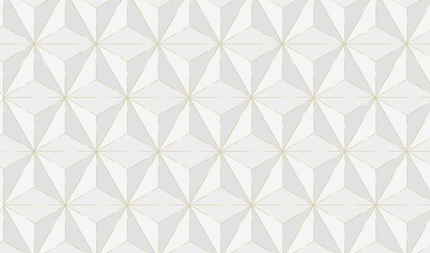 Geometrischer hintergrund mit goldenen linien