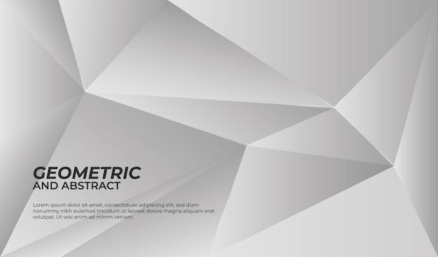 Geometrischer hintergrund schwarz und weiß
