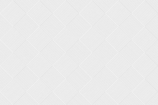 Geometrischer hintergrundvektor in weißer farbe