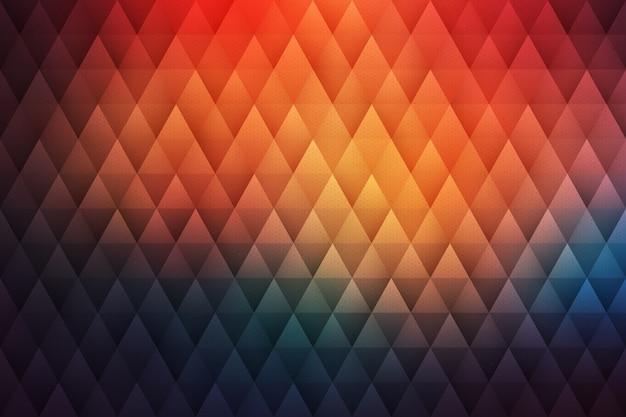 Geometrischer hippie-zusammenfassungs-hintergrund
