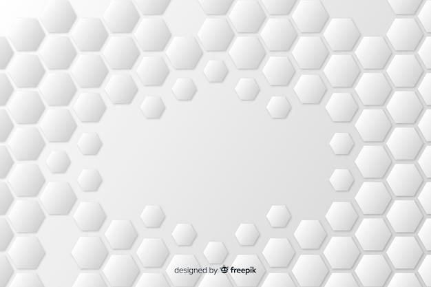Geometrischer modellhintergrund in der papierart