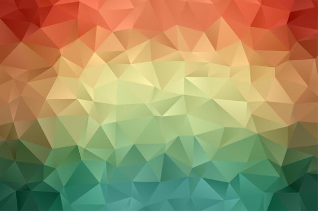 Geometrischer polygonhintergrund. diamant tapete. elegantes muster in weicher farbe