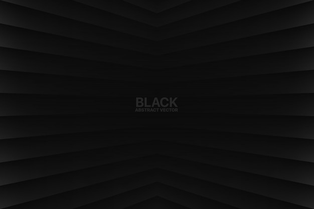 Geometrischer schwarzer abstrakter hintergrund
