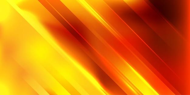Geometrischer streifen mit leuchtendem strahlenhintergrund