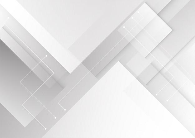 Geometrischer weißer hintergrund