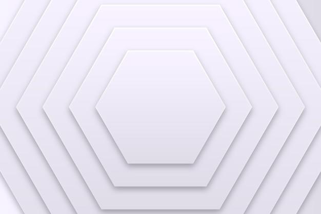 Geometrischer weißer monochromer hintergrund