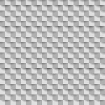Geometrischer weißer würfel abstrakter hintergrund