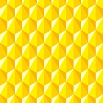 Geometrisches abstraktes muster von hexagonen. nahtloser hintergrund in der polygonalen art.