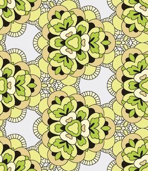 Geometrisches abstraktes nahtloses muster. kaleidoskop