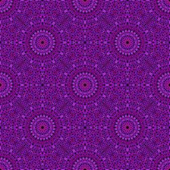Geometrisches böhmisches abstraktes blumenmuster