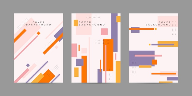 Geometrisches cover-design