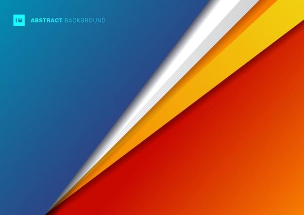 Geometrisches dreieck der abstrakten hintergrundschablone