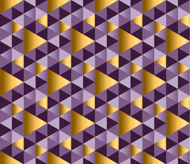 Geometrisches dreieckiges nahtloses muster
