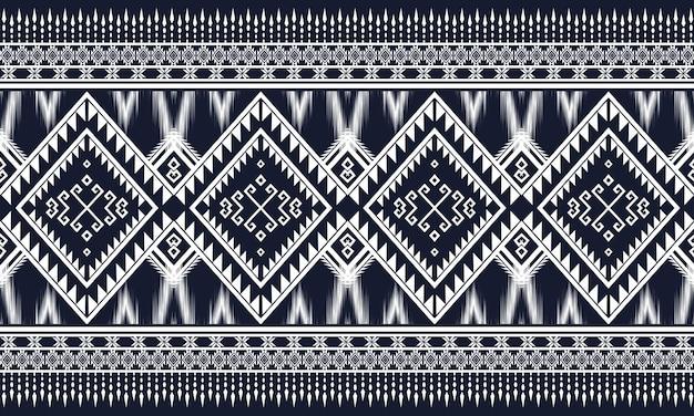 Geometrisches ethnisches muster orientalisch. nahtloses muster.