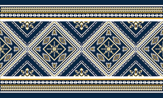Geometrisches ethnisches muster orientalisch. nahtloses muster