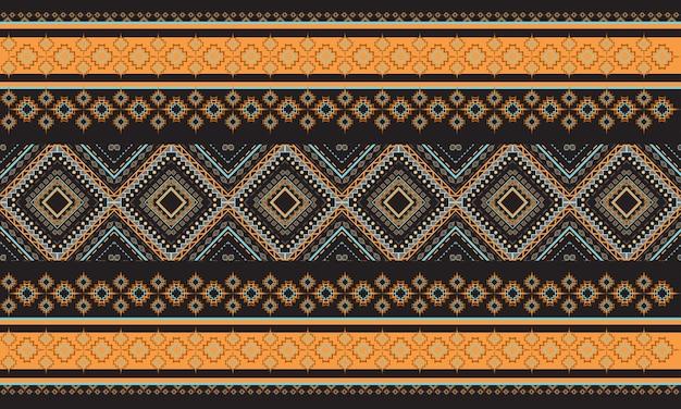 Geometrisches ethnisches muster orientalisch