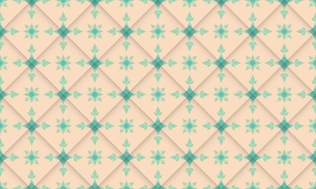 Geometrisches grooviges muster abstraktes einfaches design