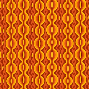 Geometrisches grooviges muster mit verschiedenen formen