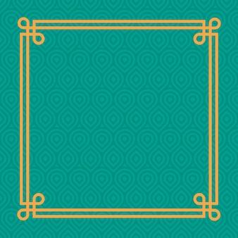 Geometrisches grünes muster
