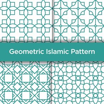 Geometrisches islamisches nahtloses muster