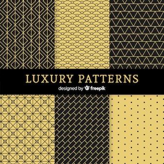Geometrisches luxusmusterpaket